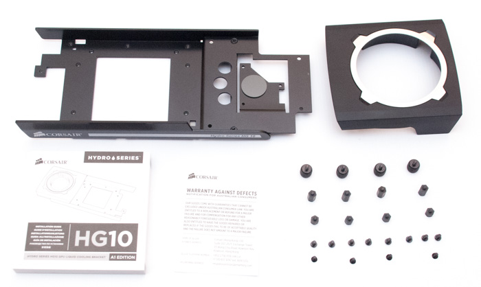 Consair Hydro Series HG10 N980 GPU Cooling Bracket