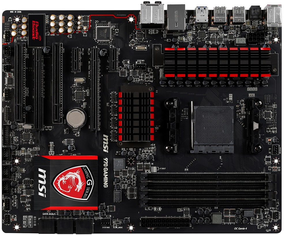 msi 970 gaming motherboard audio ports
