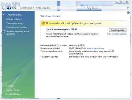 Windows update will not install vista sp1 — photo 2