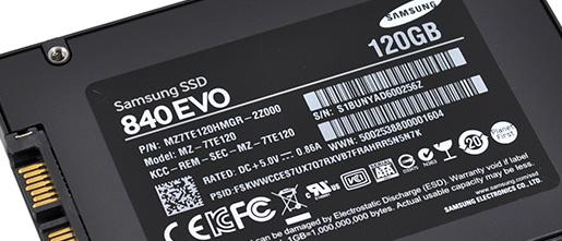 Review Samsung Ssd 840 Evo 120gb Storage Hexus Net