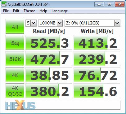 Review: Samsung SSD 840 EVO (120GB) - Storage - HEXUS net
