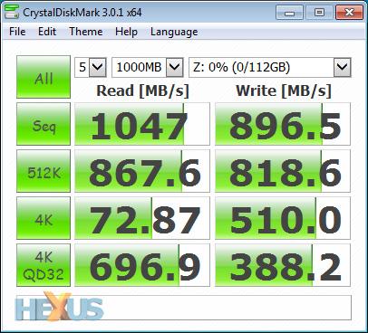 review: samsung ssd 840 evo (120gb) storage hexus.net