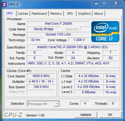 Overclocking Intel CPUs