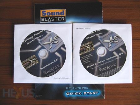 Creative sound blaster x-fi elite pro sound system download.
