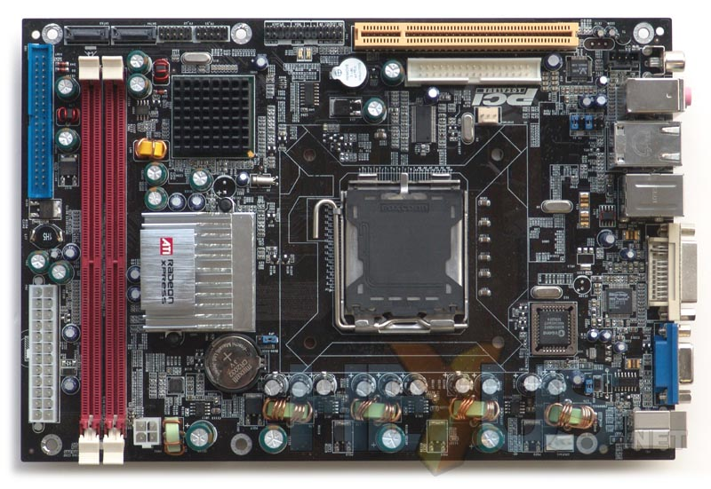 ITX form factor mainboard with integrated ATI graphics - Mainboard ...