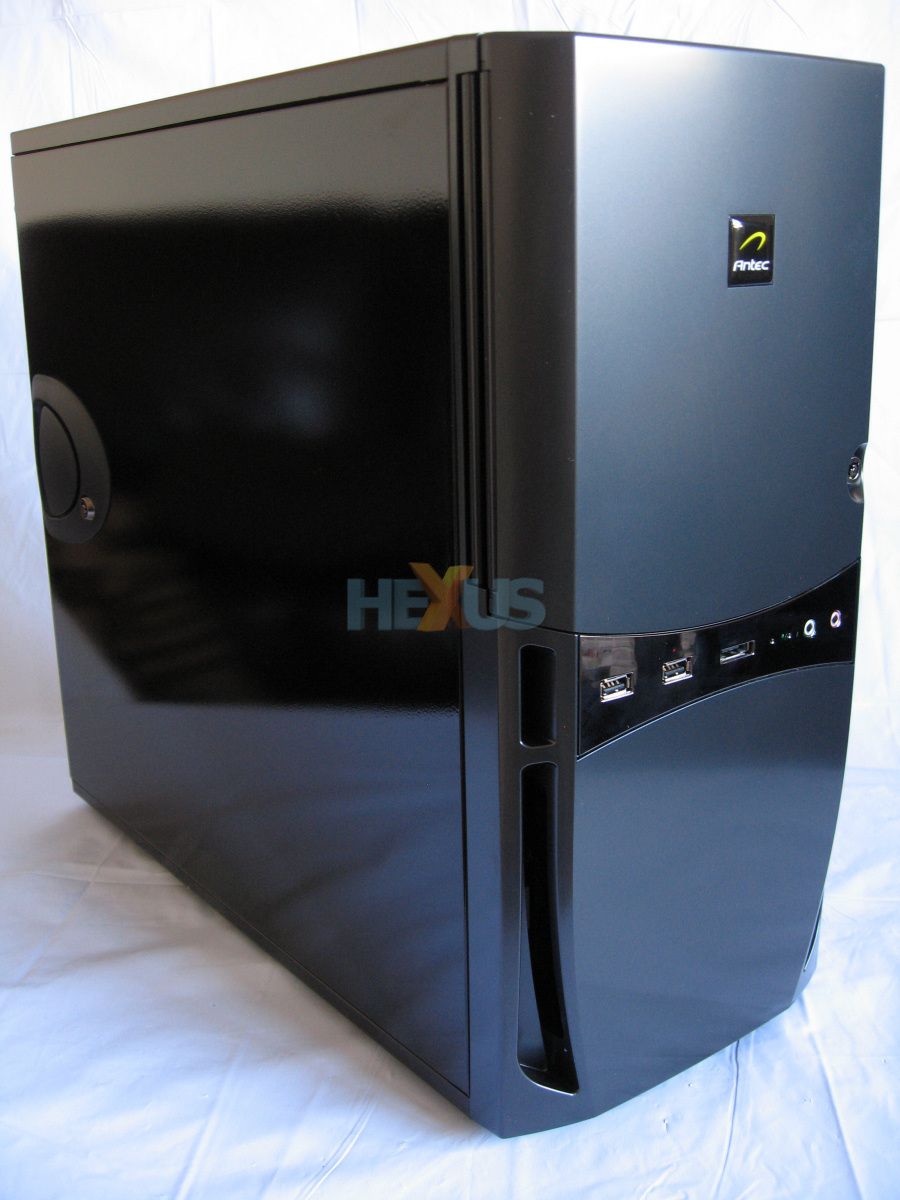 Review Antec Sonata Iii Pc System Case Chassis Hexus