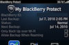 RIM launches free backup service, teases BlackBerry 6