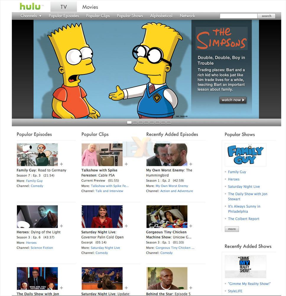 US video streaming site Hulu set for UK launch - Internet - News ...