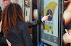 CPW uses interactive window display to flog Samsung handset