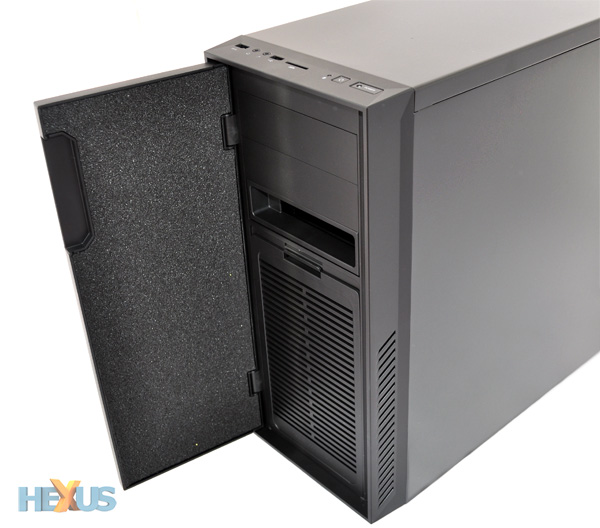 Cooler Master Silencio 550 Chassis Review Chassis
