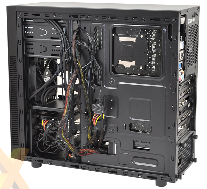 best service bbed2 0b4e0 Review: Corsair Carbide Series 100R Silent Edition - Chassis - HEXUS.net
