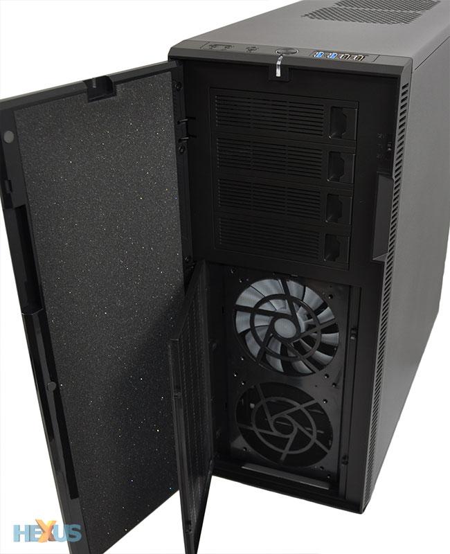 Review Fractal Design Define Xl R2 Chassis Hexus Net