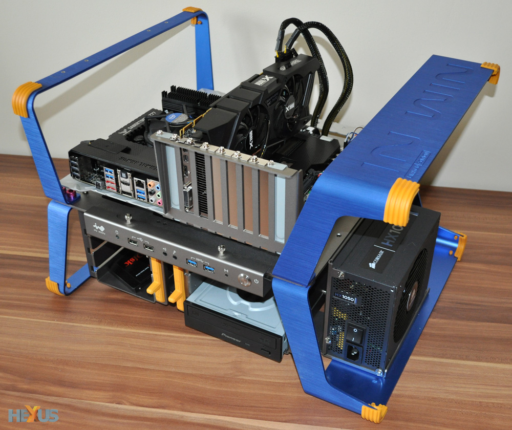 Review In Win Xframe Chassis Hexus Net Page 2