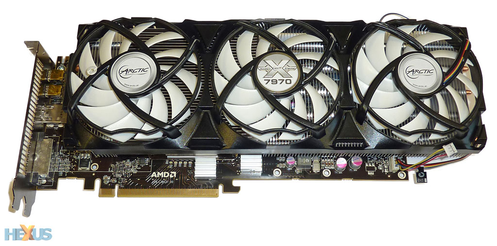 Review: ARCTIC Accelero Xtreme 7970 VGA cooler - Cooling