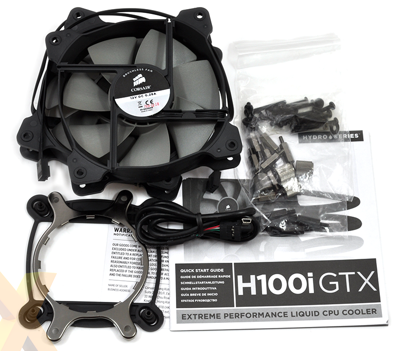 Review: Corsair Hydro Series H100i GTX - Cooling - HEXUS.net
