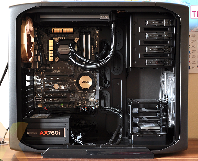 Review Corsair Hydro Series H100i Gtx Cooling Hexus Net