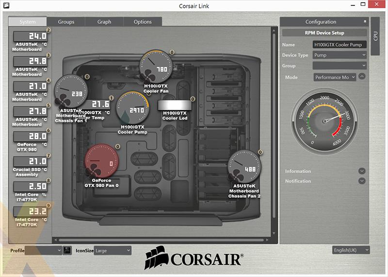 Review Corsair Hydro Series H100i Gtx Cooling Hexus Net