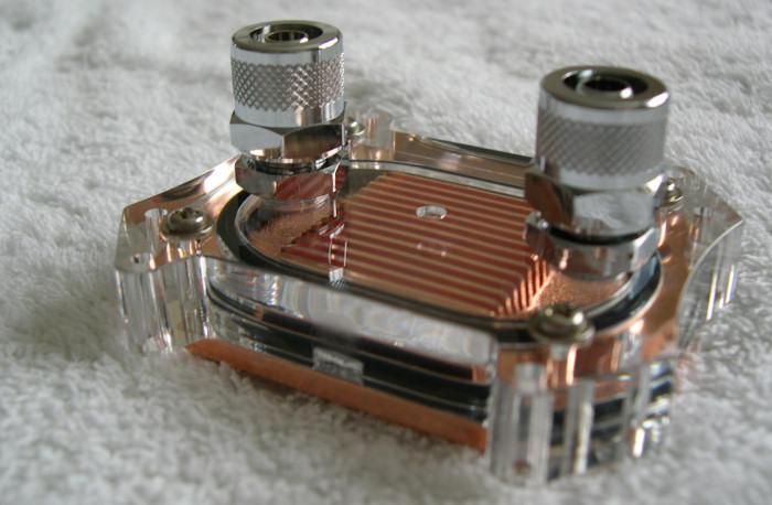 Водоблок на процессор своими руками 165