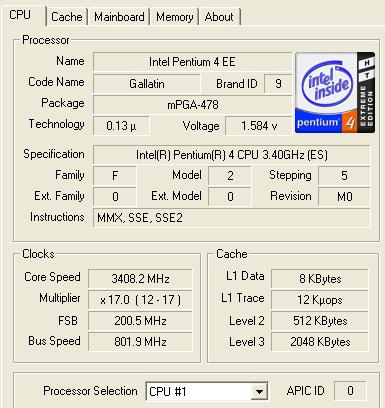 Review: intel pentium 4 3. 2ghz prescott, 3. 4ghz northwood and 3. 4.