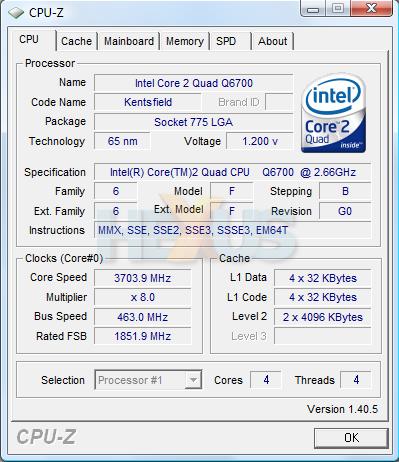 Review: Core 2 Quad G0-stepping overclocking - Q6700 retail