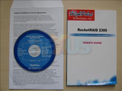 HighPoint RocketRAID 2300
