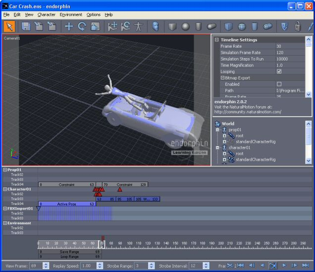 Free Learning Edition Of Naturalmotion 39 S Us 12k 3d
