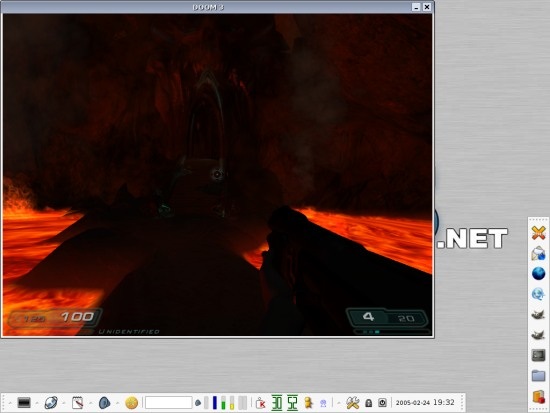 Linux game: Doom 3