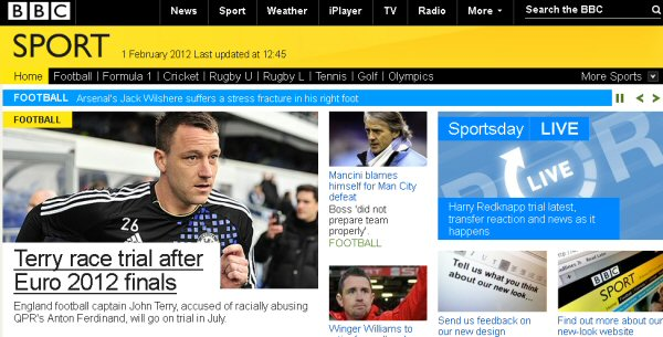 BBC Sport online gets major redesign - Entertainment - News - HEXUS net