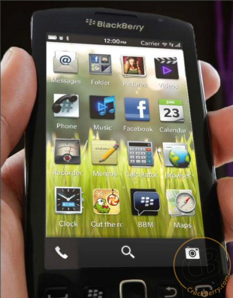 BlackBerry 10 OS images leaked revealing home screen widgets