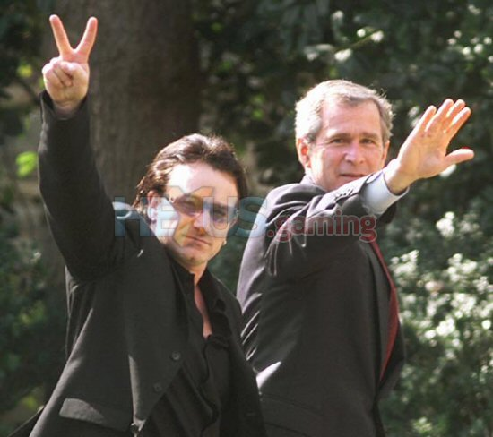 EndrTimes: U2 members against Bonos political campaigning ...