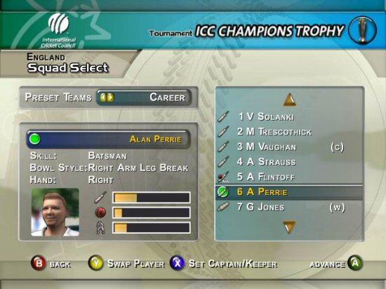 Demos: pc: cricket 2005 demo   megagames.