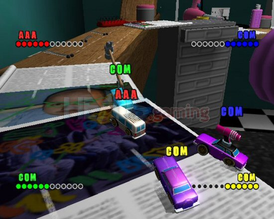 Review: Micro Machines V4 ? PC