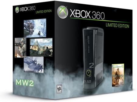 Xbox 360 : une édition Modern Warfare 2 Limited-edition-mw2-console