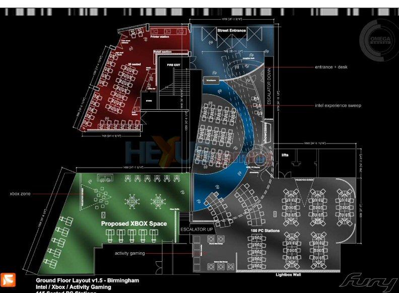 Fuse Xbox 360 Intel : Omega sektor intel xbox booths