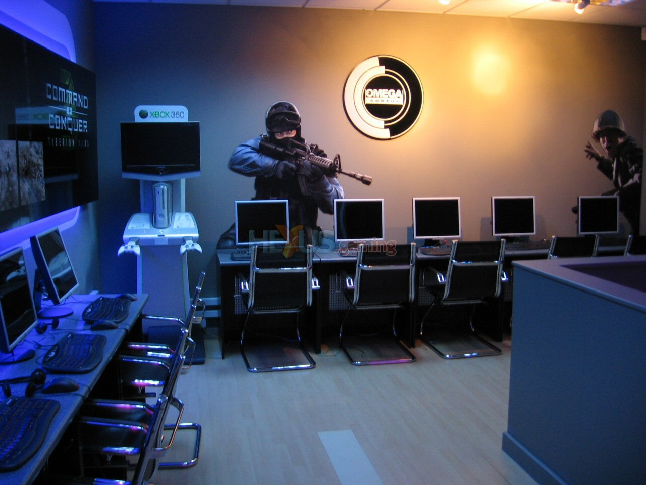 LAN gaming center