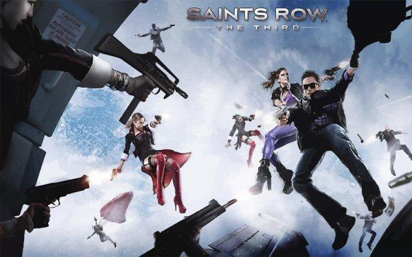 saints row the third xbox 360 gameplay