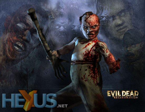 Evil Dead Regeneration is set for a September 2005 release on PC, PS2