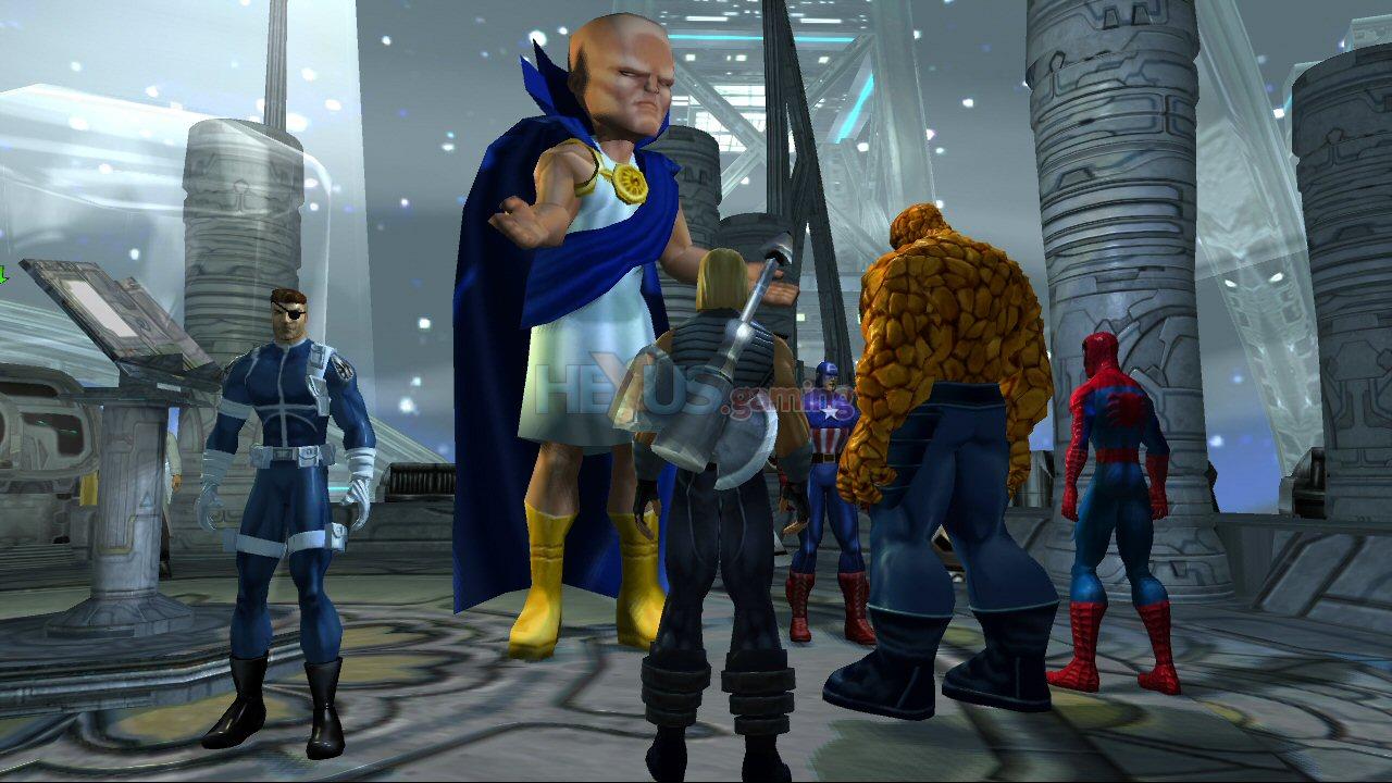 Marvel : Ultimate Alliance - Xbox 360 & PS3 screenshots - Xbox 360