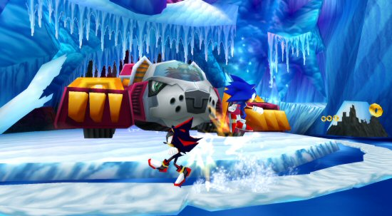 Sonic Rivals is Available to