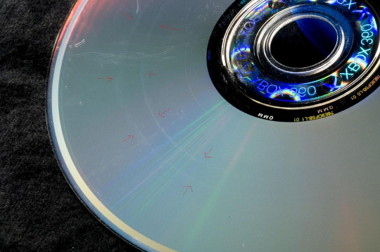 Как сделать чтобы поцарапанные диски работали