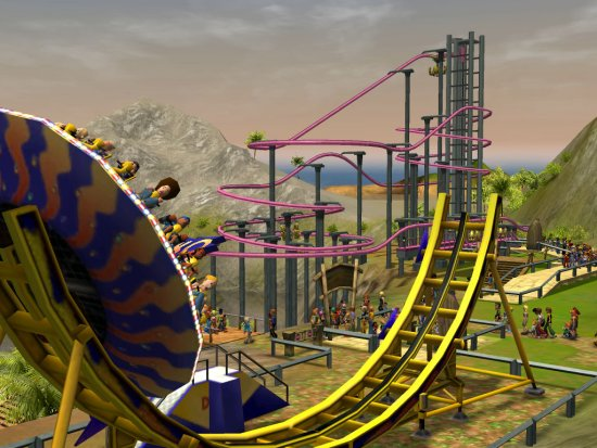 how to delete paths on roller coaster tycoon 2