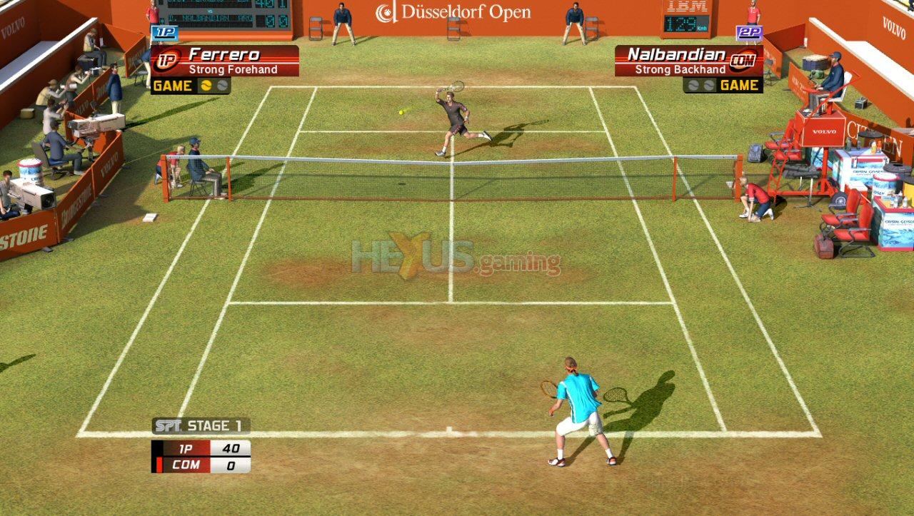 Игру Теннис + На Psp