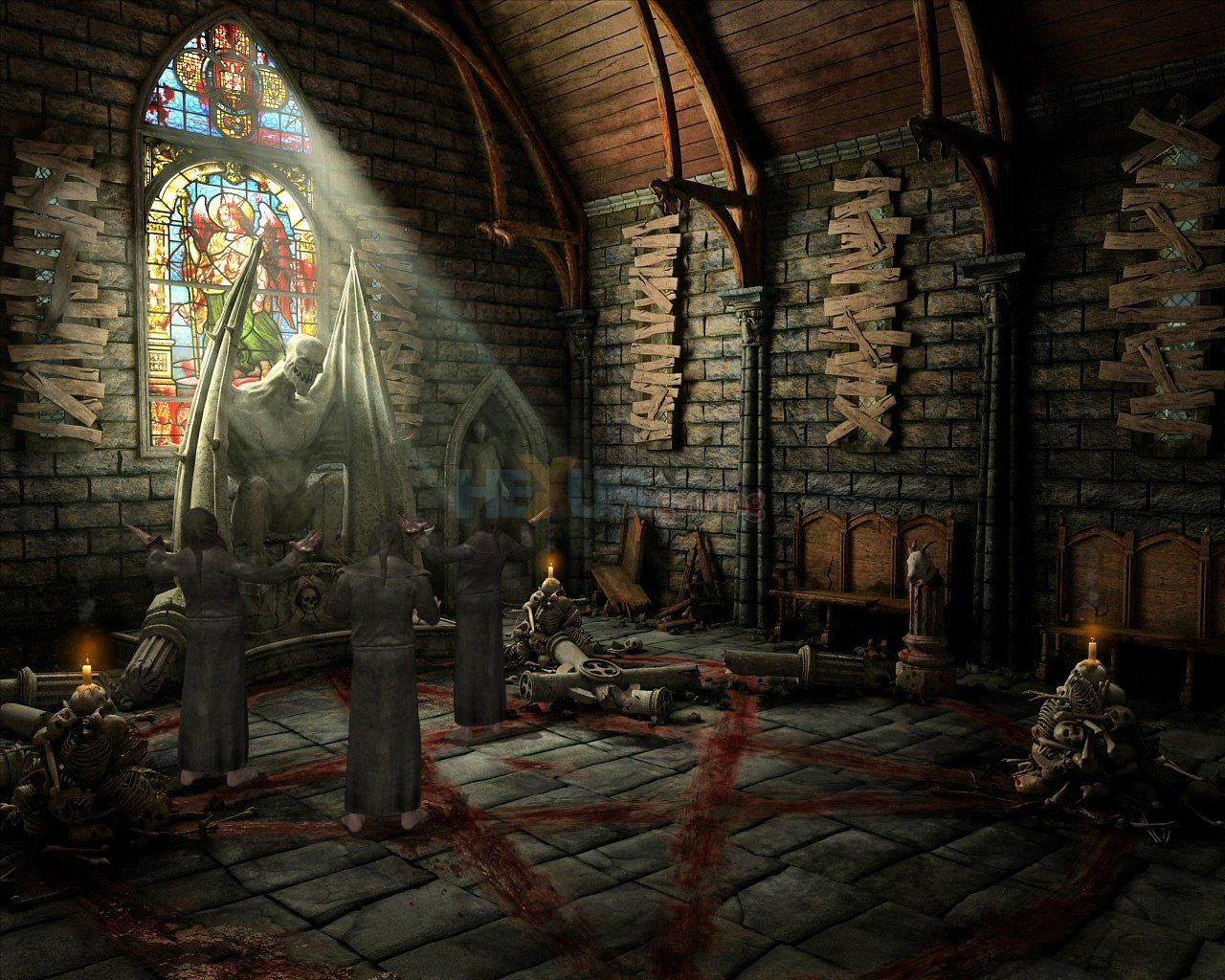 Review: Dracula Origin - PC - DS - HEXUS net