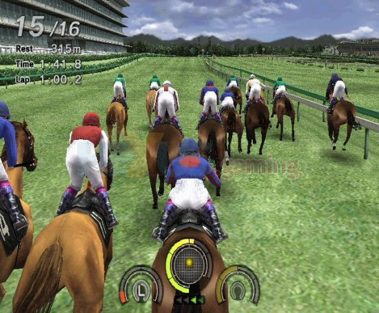 """We're hoping that this game will make all horse racing games before it look"
