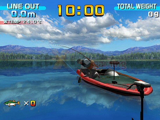 The return of sega bass fishing wii wii feature for Wii u fishing game