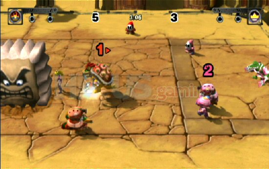Mario Strikers Charged Screenshot