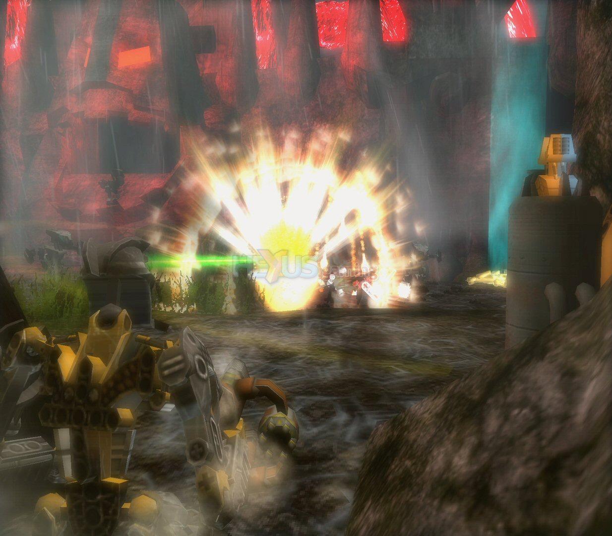 لعبة الوحش والقتال والمراحل صورها