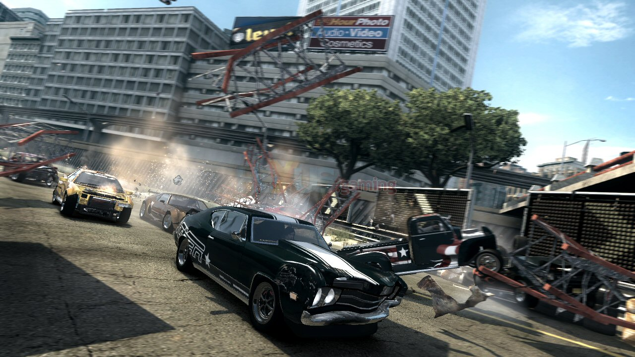 More FlatOut Ultimate Carnage Xbox 360 Screenshots.