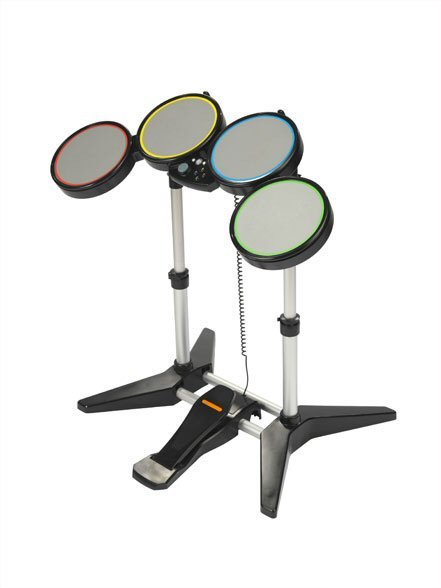 rock band drum kit revealed for xbox 360 and ps3 xbox 360 news. Black Bedroom Furniture Sets. Home Design Ideas