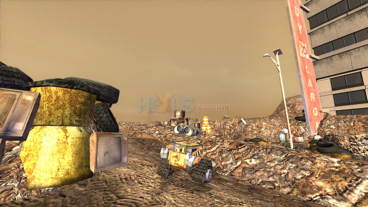 WALL E screenshots